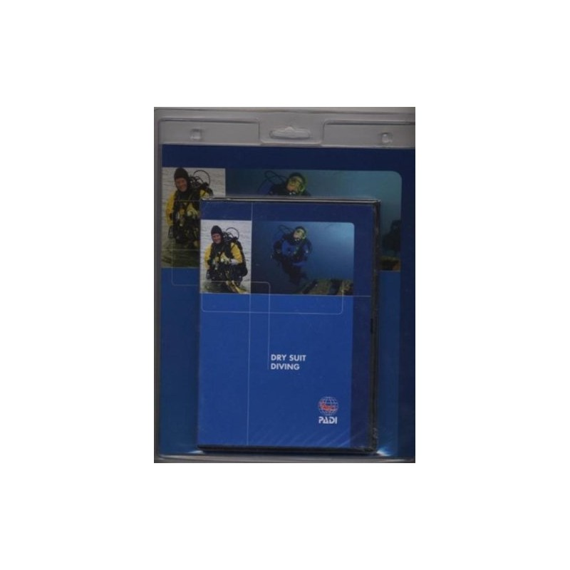 PADI Dry Suit Diving Crew Pack Training Materials For Scuba Divers