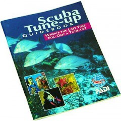 PADI Open Water Scuba Diver Refresher Book