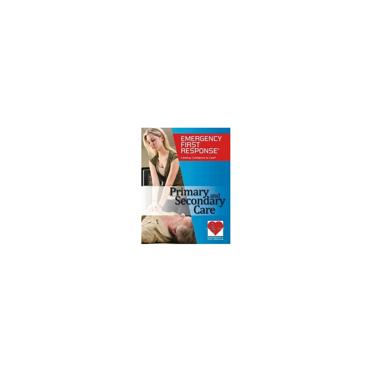 PADI Emergency First Response (EFR) Primary And Secondary Care Scuba Manual Book