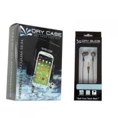DryCASE DryCASE (DC-13) Waterproof Electronics Case & DryBUDS (DB-12) Chill Waterproof Earbuds Combo