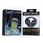 DryCASE DryCASE (DC-13) Waterproof Electronics Case & DryBUDS Free Flow (DB-48) Waterproof Earbuds Combo