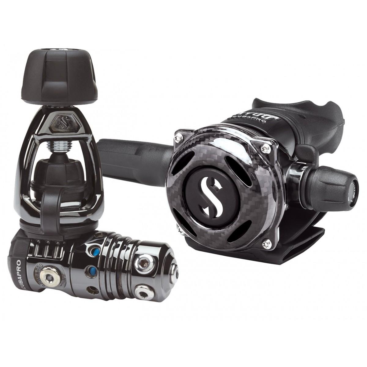 Scubapro MK25 EVO/A700 Carbon Black Tech Regulator - Yoke