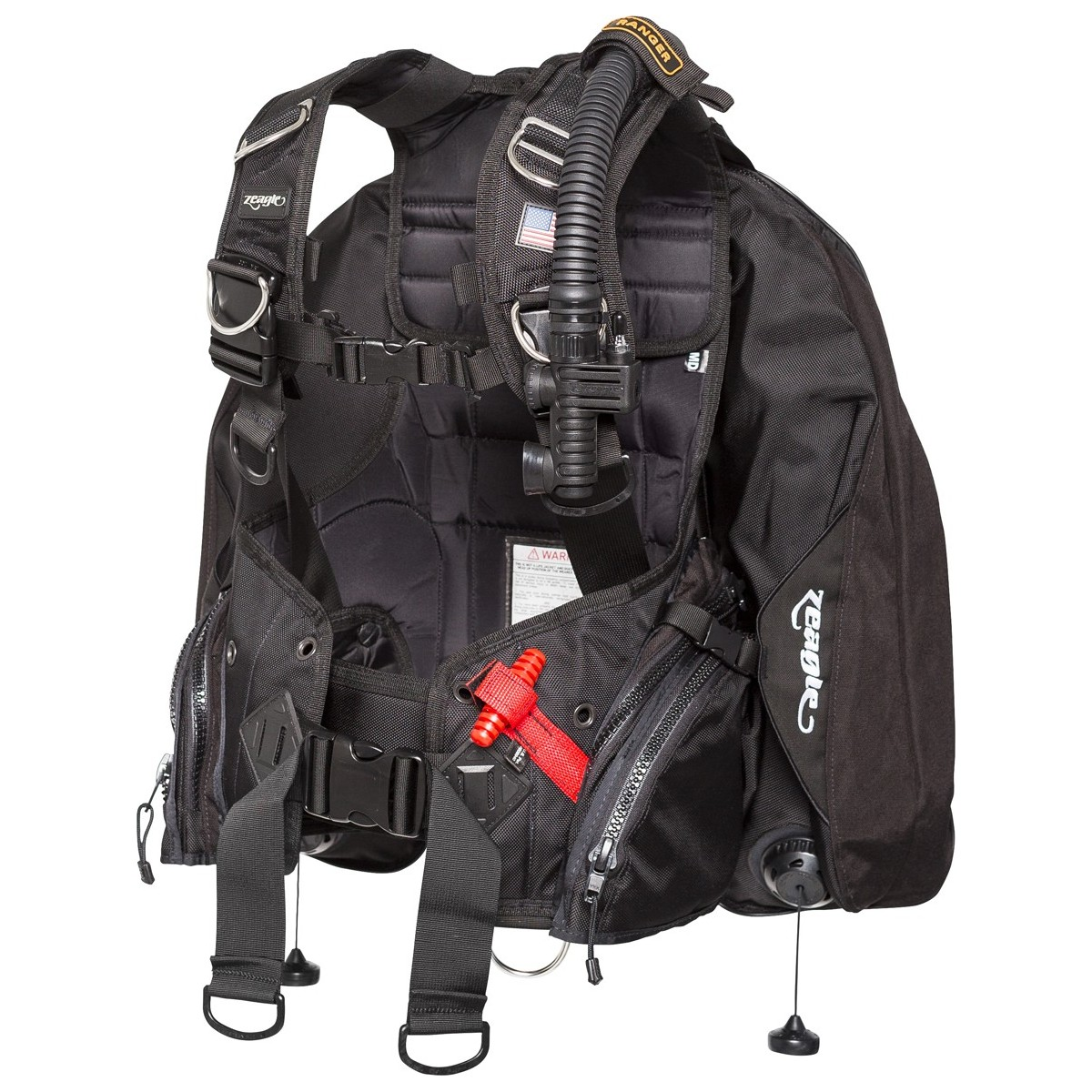 Zeagle Ranger Technical Scuba Diving BC For Scuba Divers