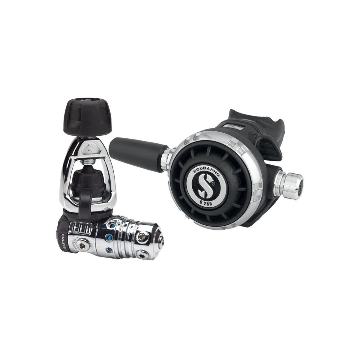 Scubapro MK25 EVO/G260 Black Tech Regulator - Yoke