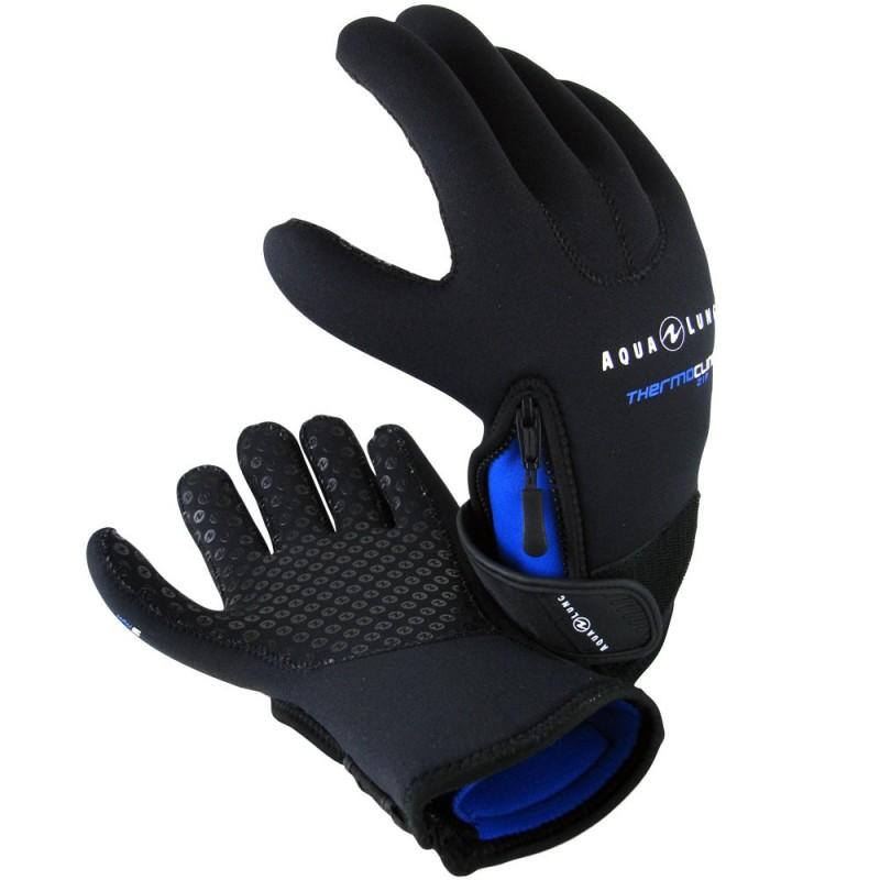 Aqua Lung Men's 3mm Thermocline Zip Glove