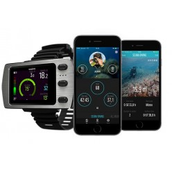 SUUNTO EON STEEL Dive Computer With Free Tank Pod Transmitter