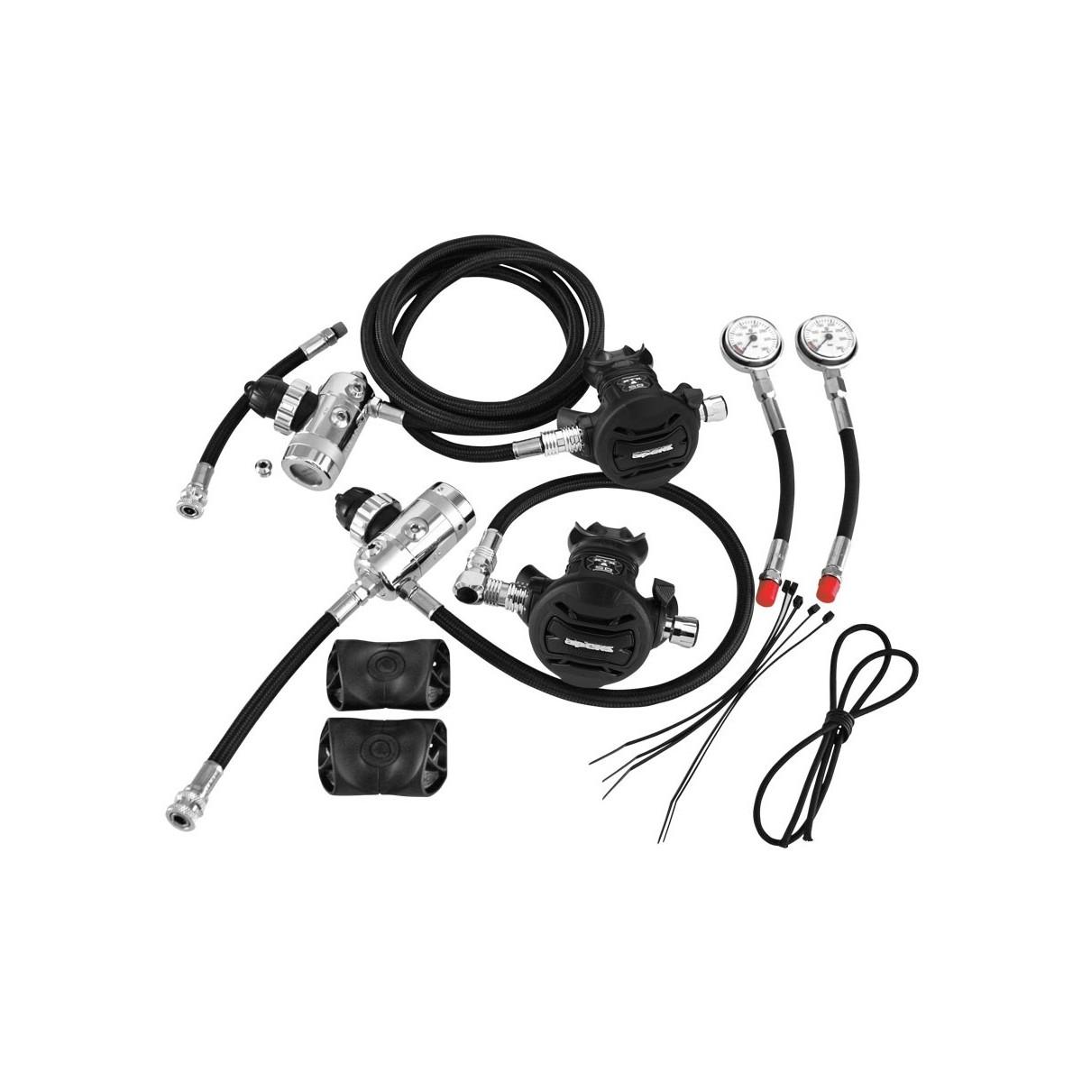 Apeks Sidemount Regulator Kit