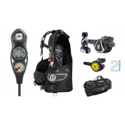 Scubapro Summer Package 2 - Equalizer BCD, MK11/C350 Regulator, R095 Octo, Aladin ONE 3-Gauge Computer