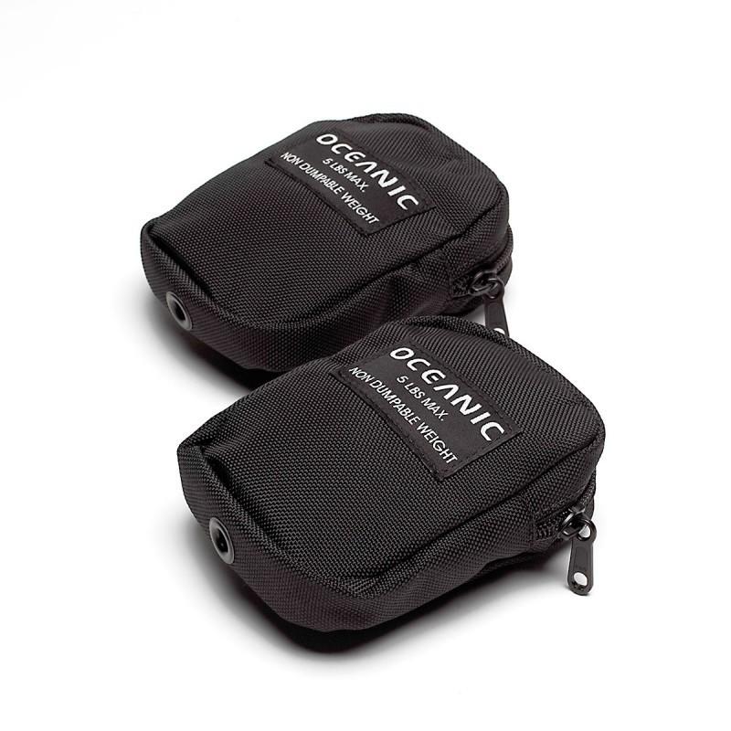 Oceanic weight pocket biolite tank pair