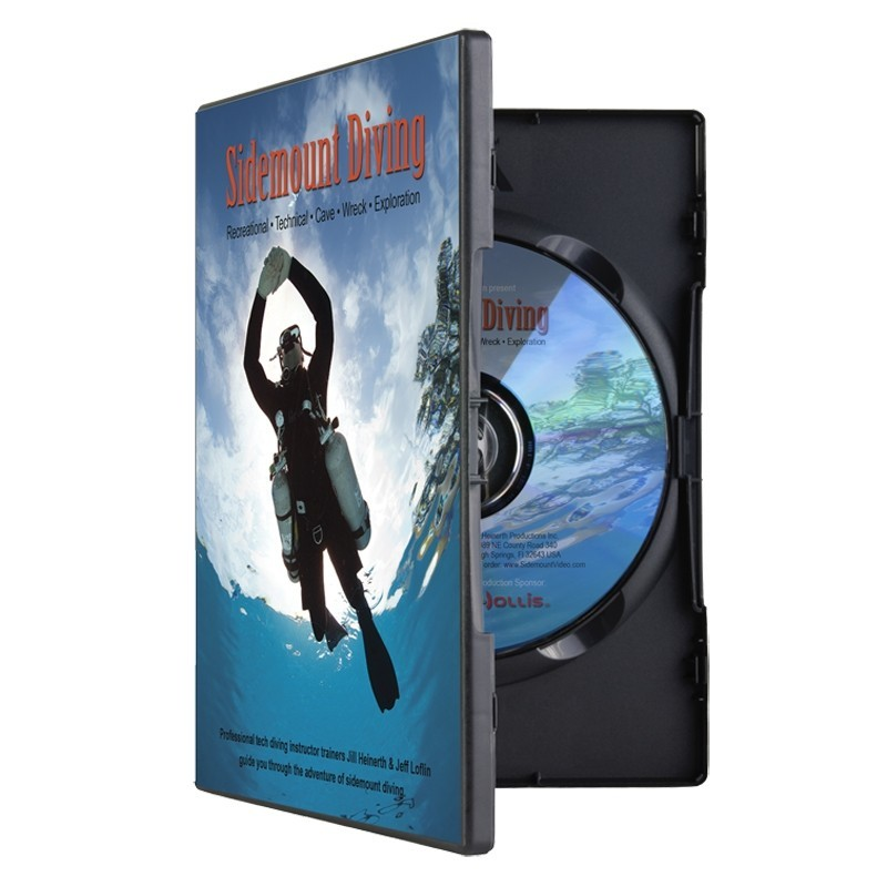 Hollis SideMount Diving Dvd
