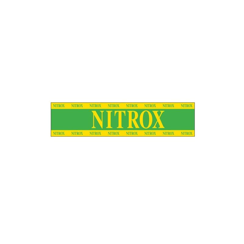 Xs Scuba Nitrox Tank Sticker