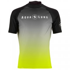 Aqua Lung Men's Short Sleeve Athletic Fit Rashguard