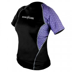 Aqua Lung Women's Short Sleeve Loose Fit Rashguard