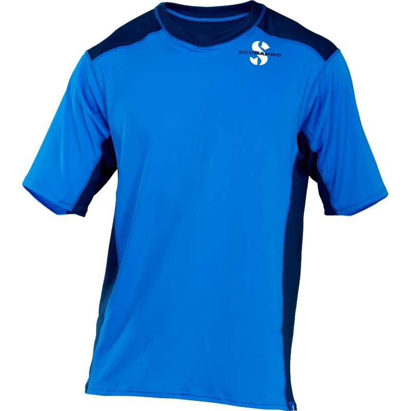 ScubaPro Channel Flow Loose Fit Short Sleeve Rash Guard Men's