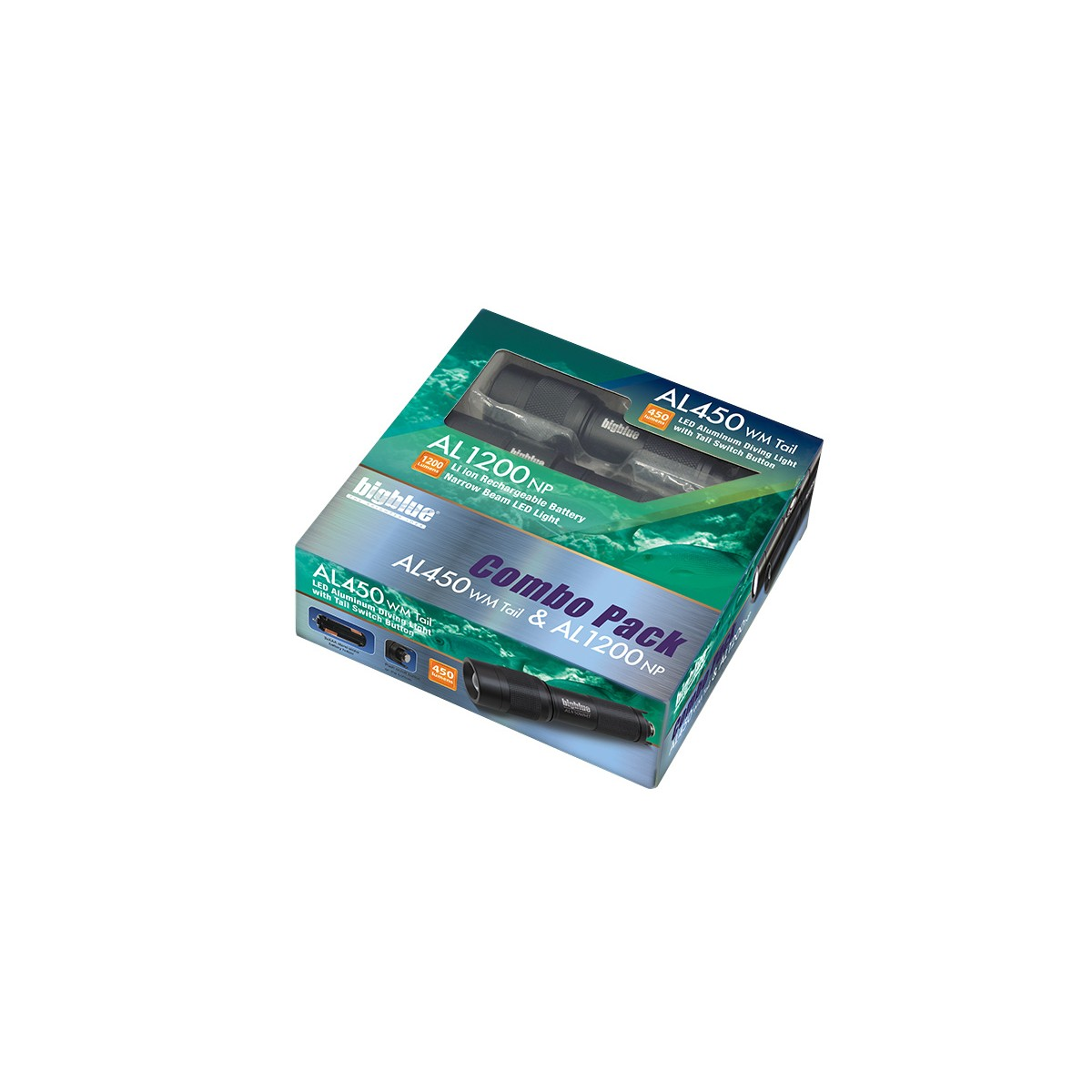 Bigblue Como Pack AL1200NP and AL450WM-Tail Switch