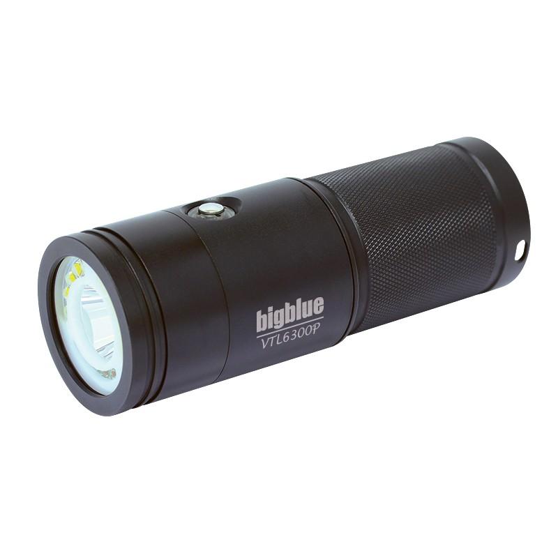 Bigblue 6300 Lumen Dual Beam Light - Video + Tech (VTL6300P)
