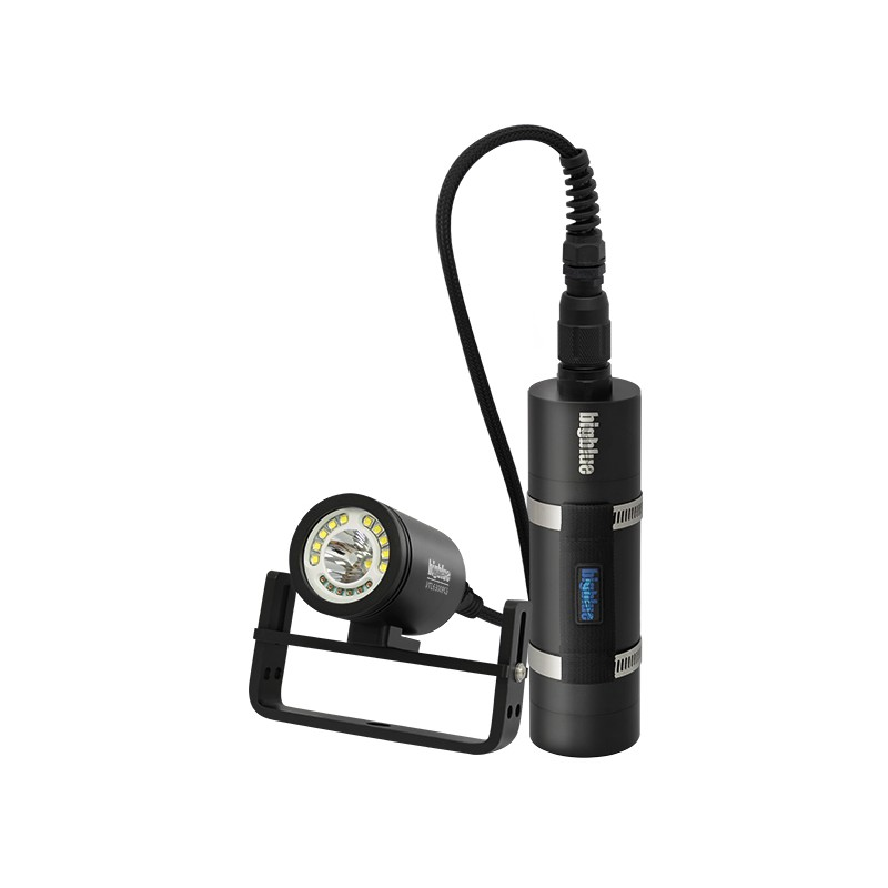 Bigblue 6300 Lumen Dual Beam Canister Light (VTL6300PC-Slim)