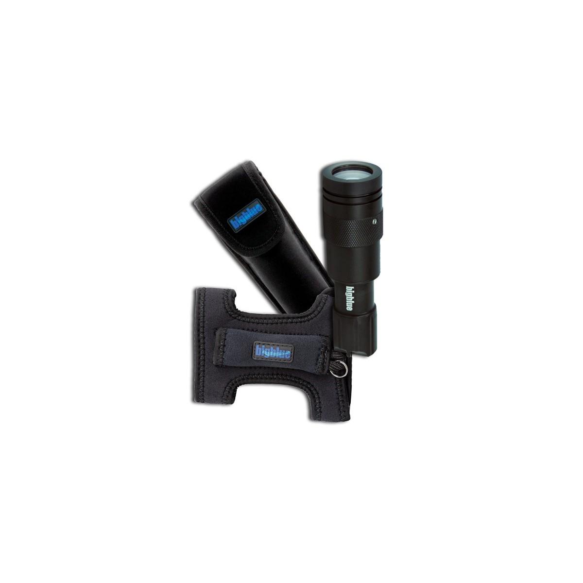 Bigblue 450 Lumen Adjustable Beam w/ Glove + Pouch(CF450GP)