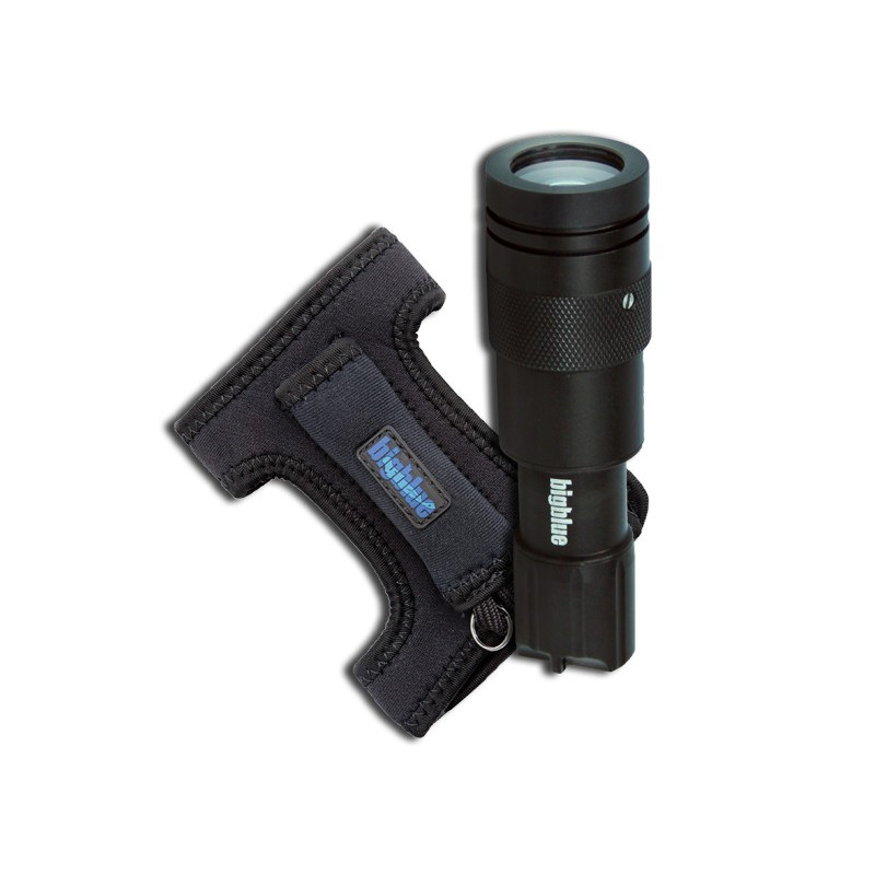 Bigblue 450 Lumen Adjustable Beam w/ Glove (CF450G)