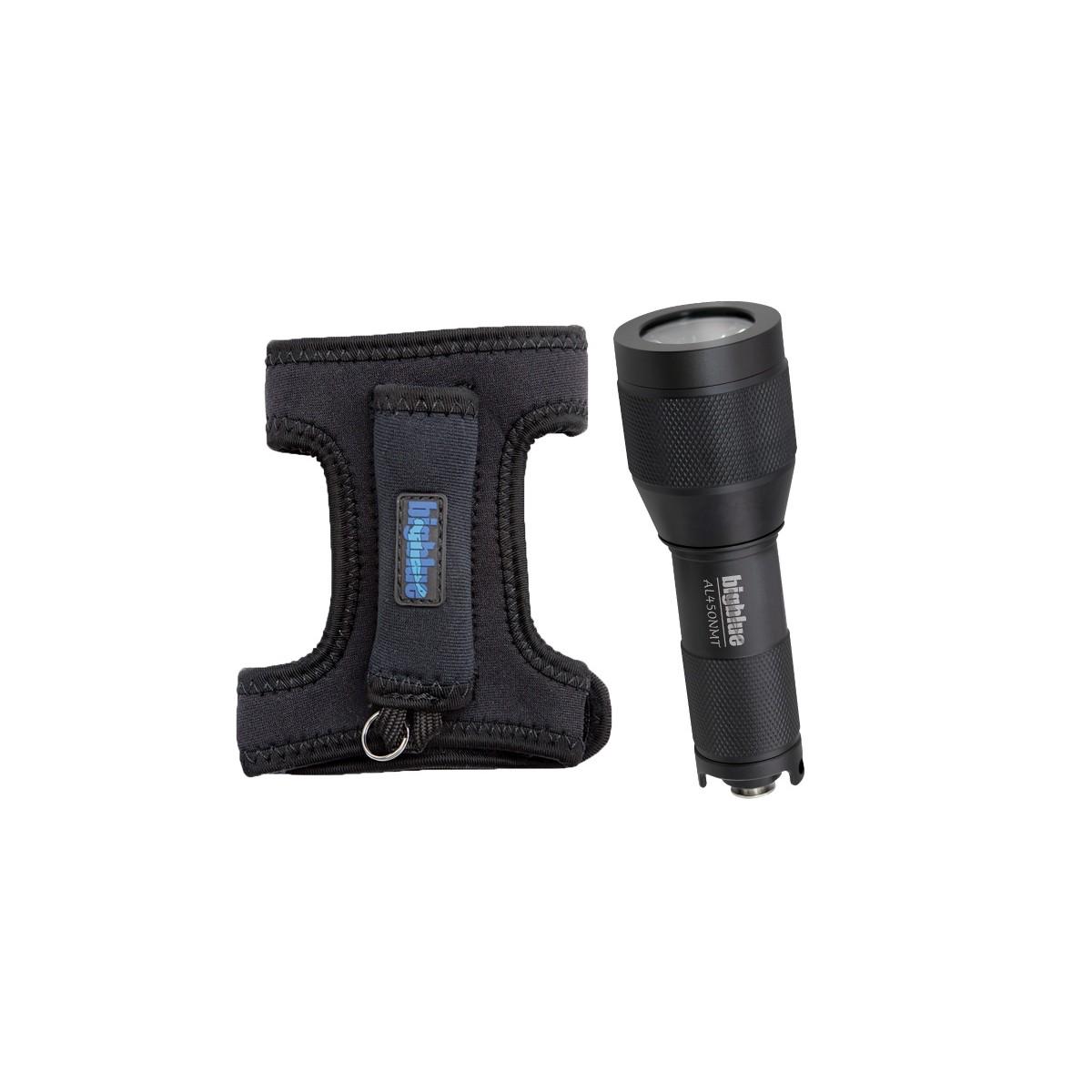 Bigblue 450 Lumen Narrow Beam w/ Glove (AL450NMT-G)