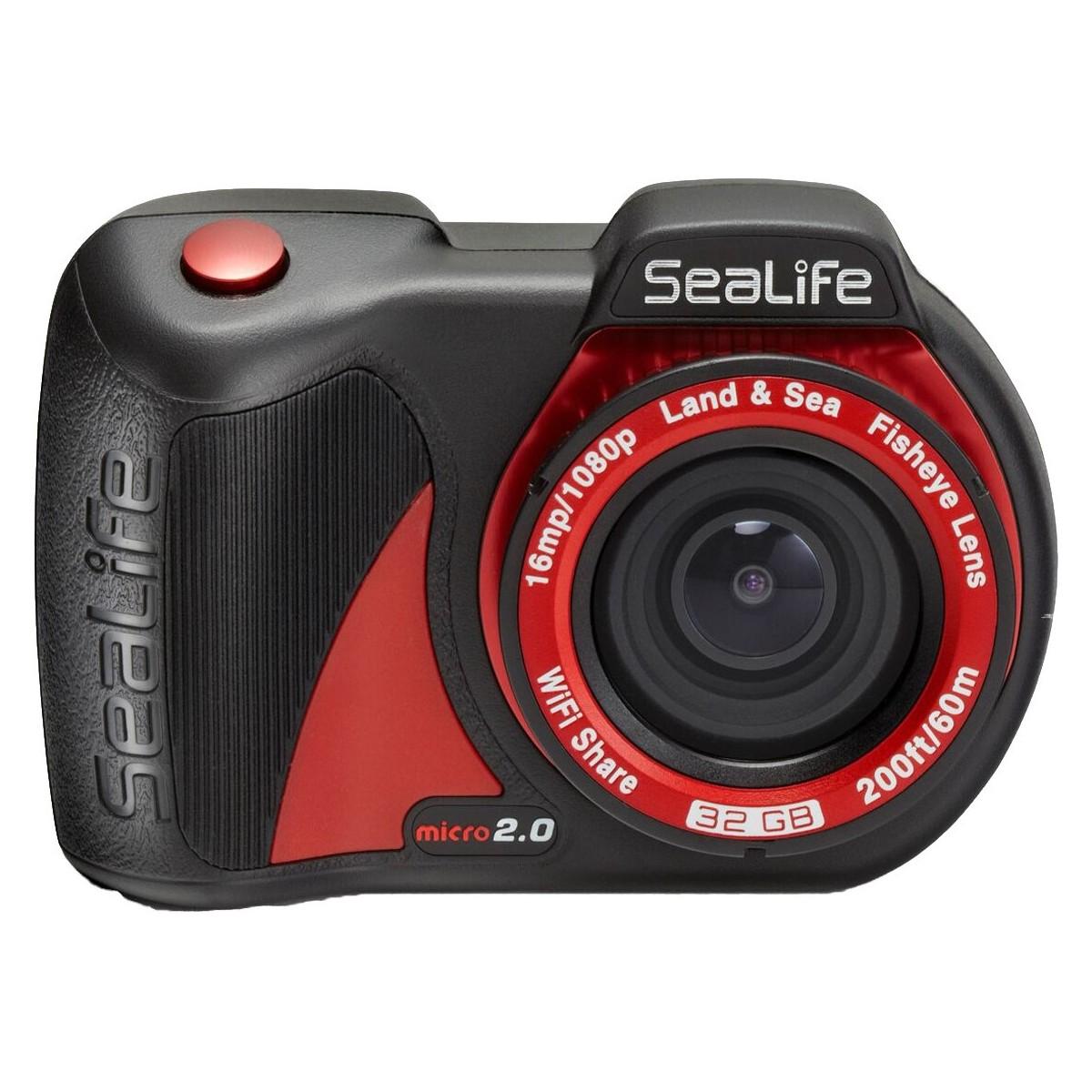 Sealife Micro 2.0 16mp WiFi Underwater Camera 32GB